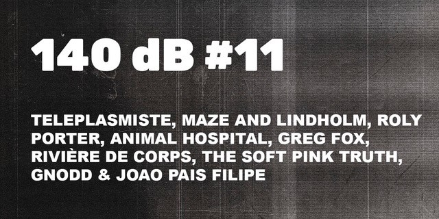 140 dB #11: Teleplasmiste, Maze & Lindholm, Roly Porter, Animal Hospital, Greg Fox, The SOft pink Truth